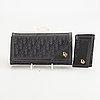 Dior plånbok och nyckehållare.