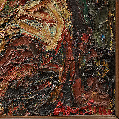 Albin amelin, oil on canvas, signed amelin. dated -27 verso.