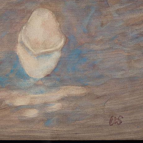 Ulrik samuelson, watercolour, signed us.