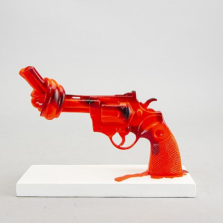 Carl fredrik reuterswärd, non-violence project foundation skulptur 2015.