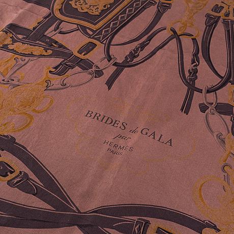 """Hermès, scarf, """"brides de gala""""."""