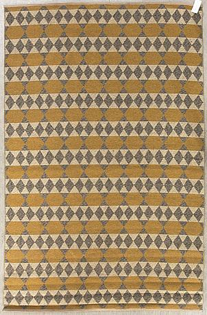 Matta, dubbelsidig, 1900-talets mitt. 237x160 cm.