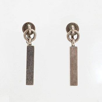 Wiwen Nilsson, silver earrings.