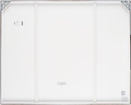 Helena blomqvist, pigment print, 2011, signed helena blomqvist and verso numbered 6/6.