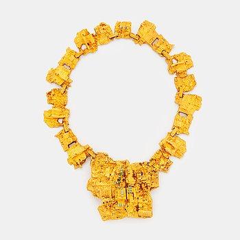 """438. A Björn Weckström necklace """"The living wall""""."""