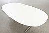"""Bruno mathsson & piet hein, bord """"superelips"""" för fritz hansen, licenstillverkat i sverige 2007."""