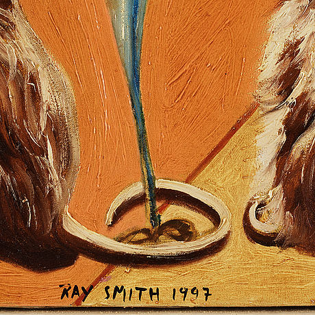 Ray smith, oil on canvas, signed and dated 1997.
