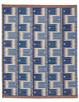 "252. Marianne Richter, a carpet, ""Kattegatt"", flat weave, ca 311,5-313,5 x 245-248 cm, signed AB MMF MR."