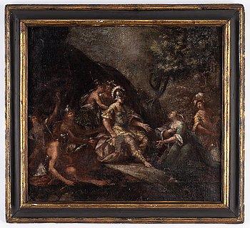 Jacob Jacobsz de Wet, circle of. Relined canvas 65.5 x 73.5 cm.