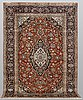 A rug, kashan, ca 287 x 200 cm.
