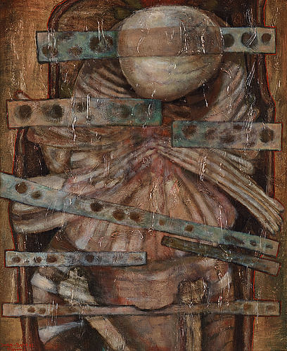 Zoltan von boer, oil on canvas, signed and dated -62.