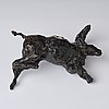 Asmund arle, sculpture, dark patinated bronze, signed a. arle and numbered 1/5.