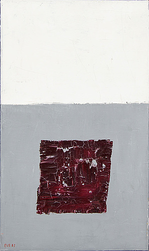 Eve eriksson, oil on canvas, signed and dated 85.