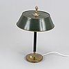 A table lamp, 1930-40s.