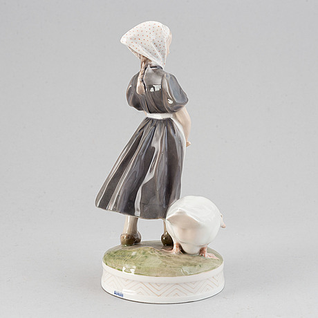 Royal copenhagen, a no 527 porcelain figurine, denmark.