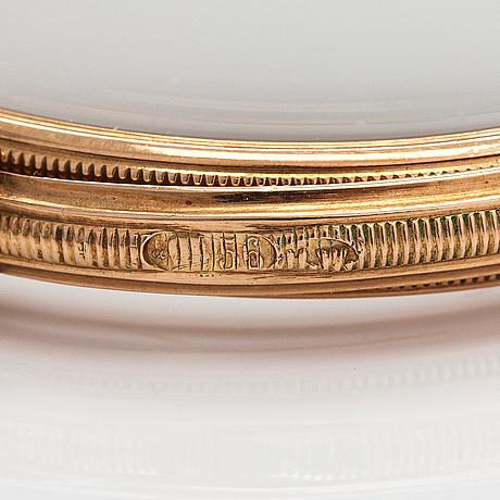 Henrik wigström, a guilloché enamel gold-mounted lorgnette, saint petersburg, russia, 1911-17.