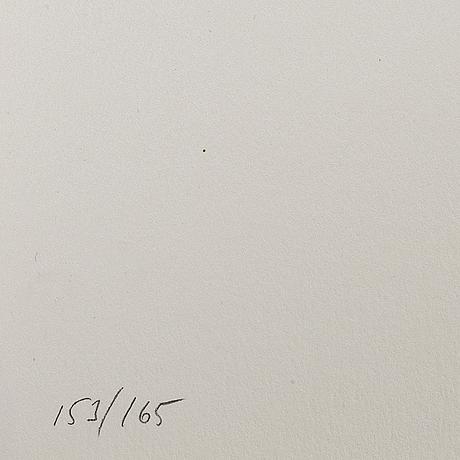 Makode linde, färglitografi med uv-lack, signerad och numrerad 153/165.