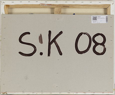Stefan karlsson, oil on canvas, signed verso.