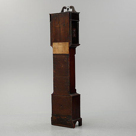 A longcase clock by j mcgregor, early 19th century.