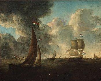 Holländsk skola 16/1700-tal, olja på duk.