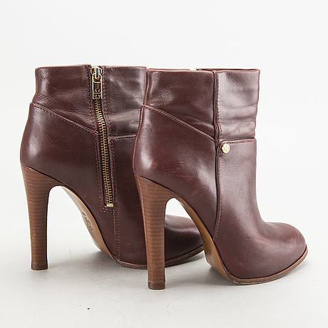 A pair of 'kasey' booties by tory burch.