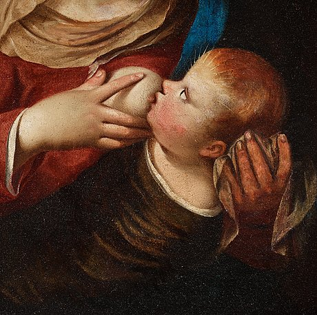 Adriaen isenbrant, in the manner of, oil on canvas.