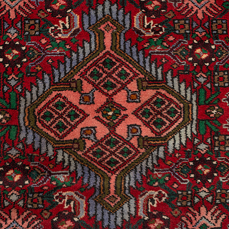 Two rugs from western iran, ca 129 x 80 and 147 x 105 cm.