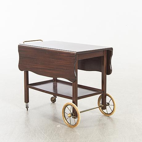 Serveringsvagn, georg kofoeds möbeletablissement, danmark 1900-talets mitt.