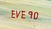Eve eriksson, olja duk, signerad och daterad  -90.