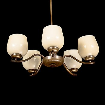 Paavo Tynell, a 1930's '1442/5' chandelier for Taito.