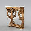 A console table, second half of the 19th century.