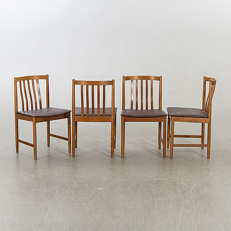 Stolar, 4 st, 1900-talets mitt.