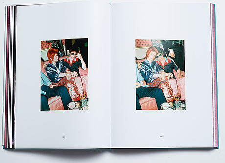 Mick rock, limited edition photo book signed by rock and bowie 2015 published by taschen.