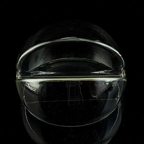 Toni zuccheri, glass object veart, italy.
