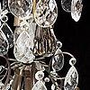 A contemporary rococo style chandelier.