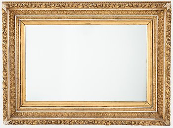 Mirror / Frame, late 19th century.