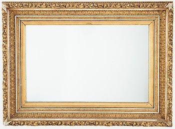 Spegel / Ram, 1800-talets slut.