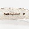A silver bracelet, model 1232. kalevala koru, helsinki 1961.