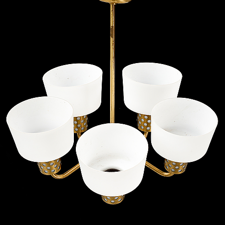 A ceiling lamp, mid 20th century.