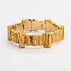 "Björn weckström, a 14k gold bracelet ""mystica"". lapponia 1981."