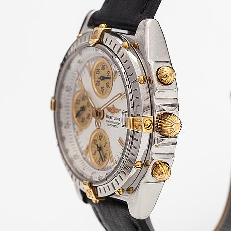 Breitling, chronomat, wristwatch, 40 mm.