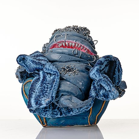 """Nathalie djurberg & hans berg, """"whale in armchair"""" from """"worship""""."""