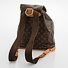 Louis vuitton, monogram canvas montsouris backpack.