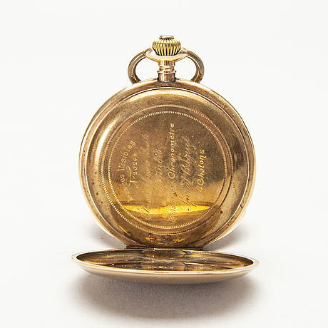 Pocket watch, hunter, 51 mm.