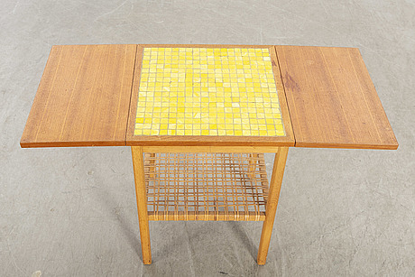 A bertil fridhagen side table for bodfors möbler 1960's.