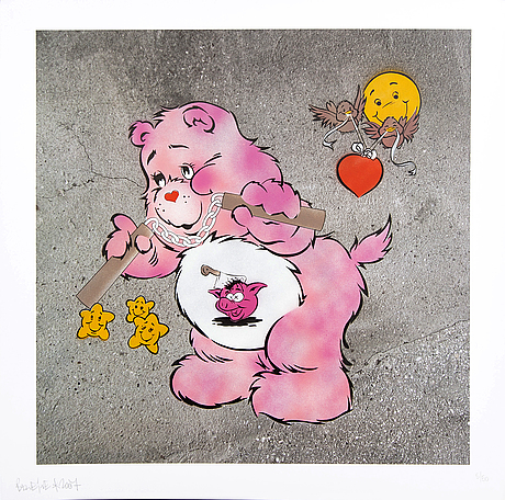 Ben eine, a signed, dated and numbered serigraph.