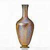 """Louis comfort tiffany, an art nouveau """"favrile"""" glass vase, usa."""