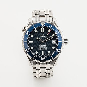 Omega, Seamaster Professional (300m/1000ft), Chronometer, wristwatch, 36,25 mm.