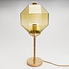 A 'b-88' table lamp for bergboms, latter half of 20th century.