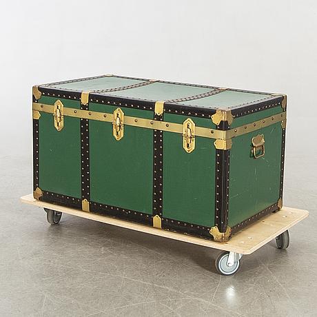 Koffert brevettato italien 1900-talets första hälft.